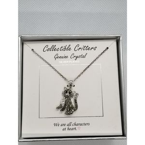 Jewelry - collectible critters cat necklace